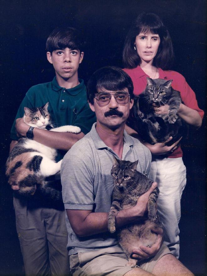 Männer und Katzen