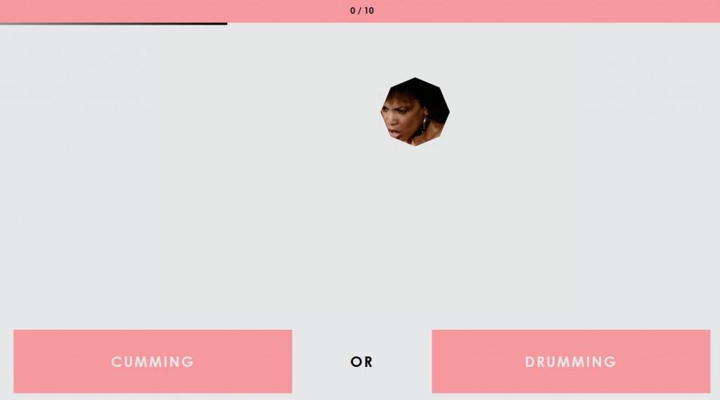 Cumming or Drumming fragestellung