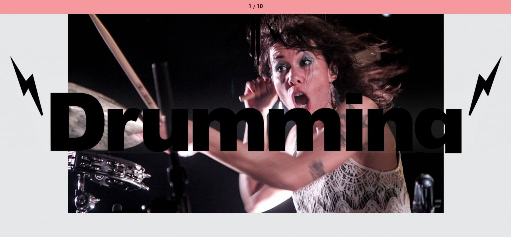 Cumming or Drumming drummer