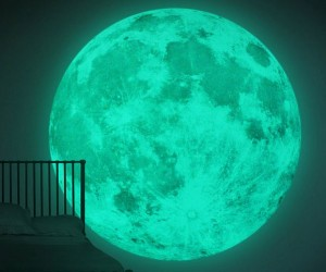 Leuchtmond 2 Meter glow in the dark Mond
