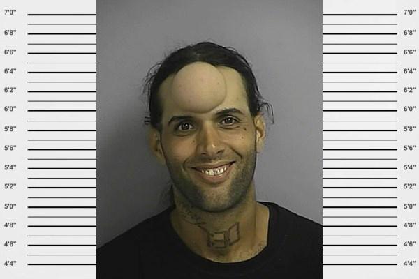 kochsalzlösung in der stirn kriminelle lustige fotos