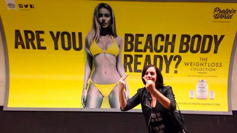 body shaming werbung