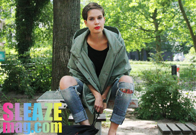 street one cape outfit sleazemag