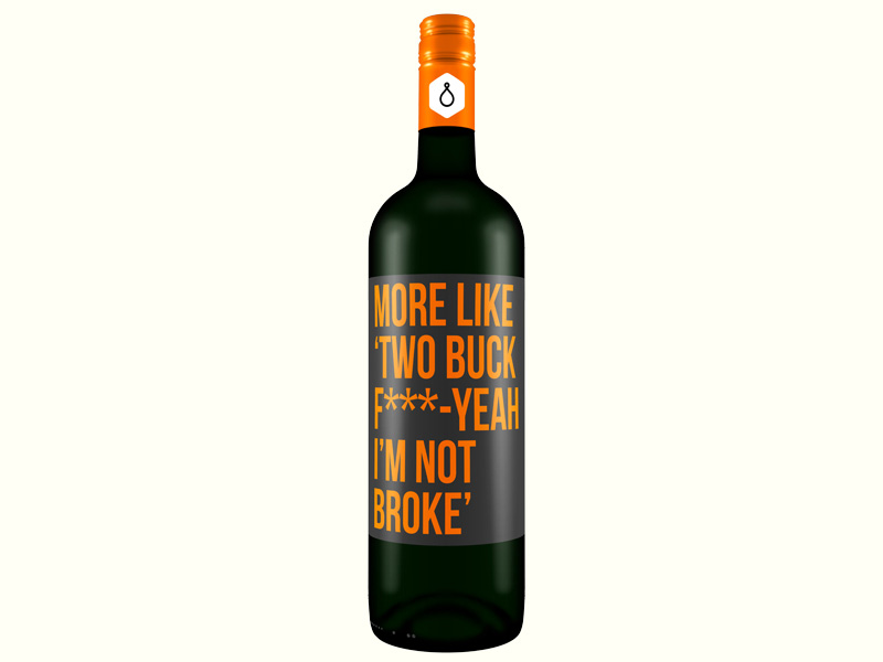 billig Wein