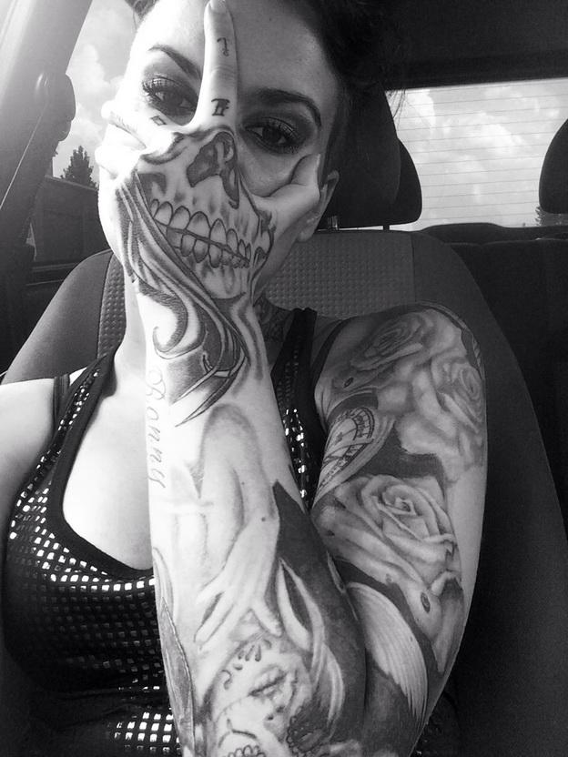 Tattoos mit optischen Täuschungen