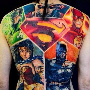 Superheldentattoos