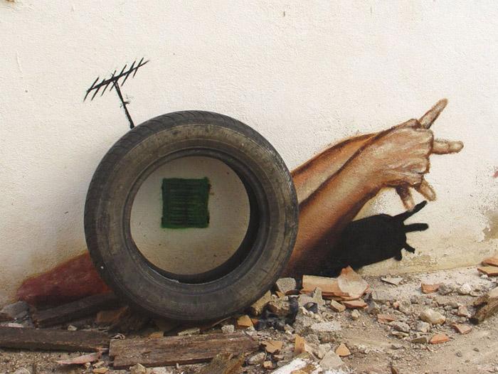 verblüffende Street Art