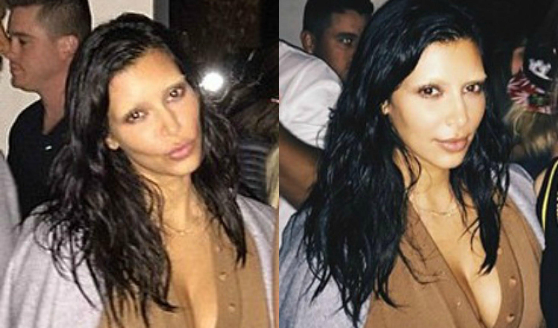 kim kardashian instagram trend gebleichte augenbrauen