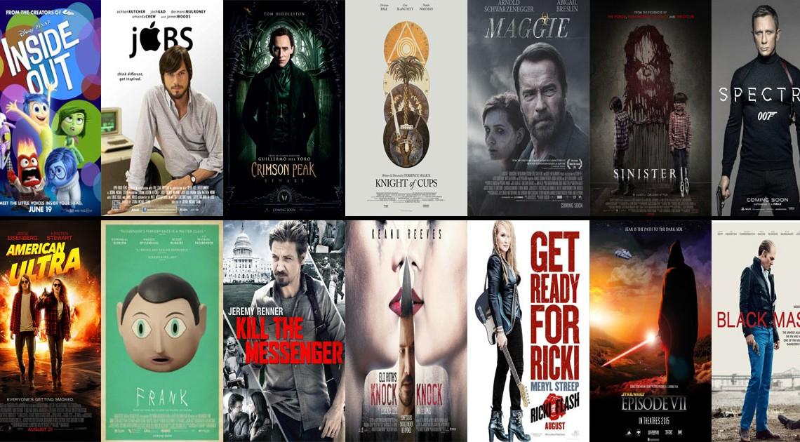 Filmhighlights im 2. Halbjahr 2015