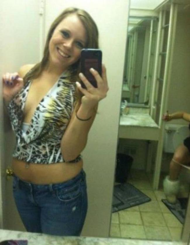 Klofie Klo-Selfie Fail Selfie-Fails im Spiegel