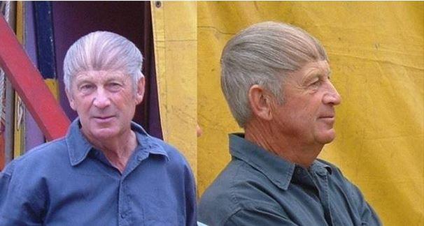 Überkäm-Frisuren