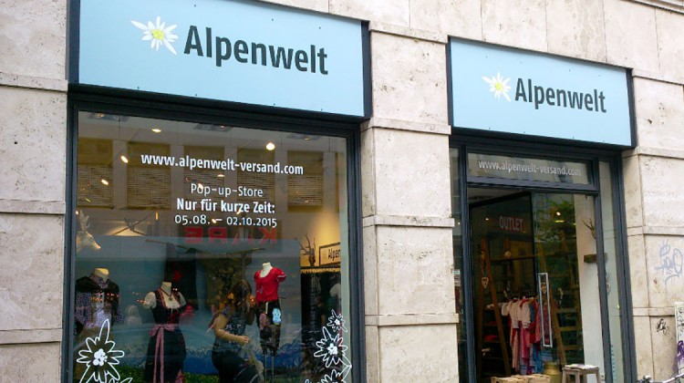 Alpenwelt Pop-up Store