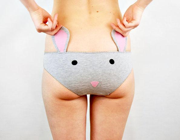 Etsy Knickerocker Unterhosen mit Tiergesichtern und Ohren Maus