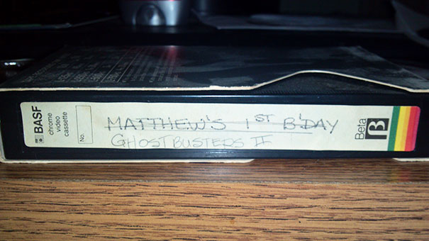 vhs kassette mit geburtstag überschreiben