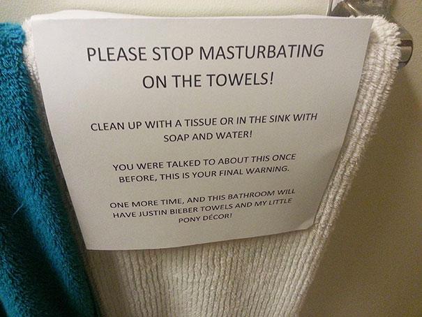 nicht masturbieren lustiges bild