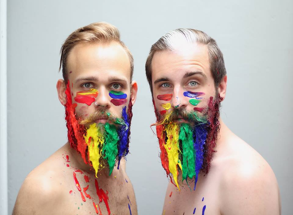 gay-beards-farbe schöne männer mit bart