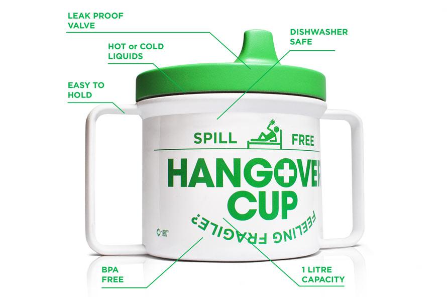 Hangover Becher Schnabeltasse für Betrunkene