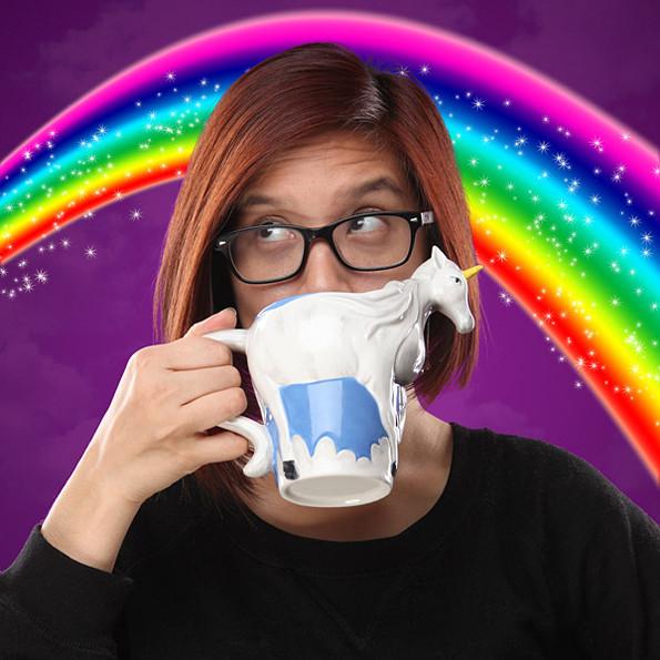 einhorntasse rainbow