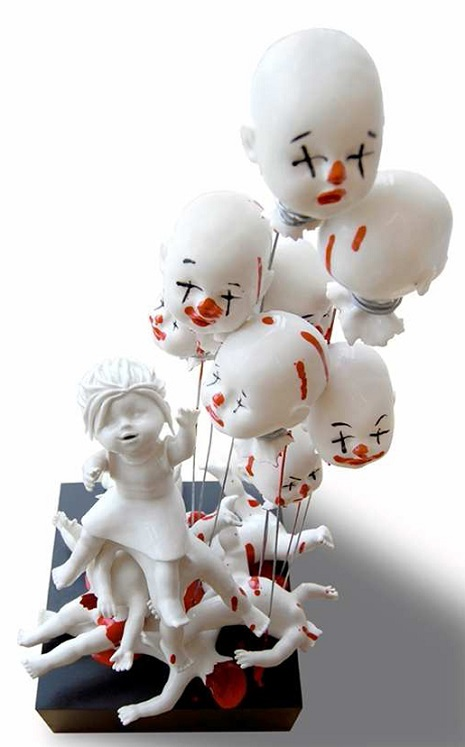 Keramik Clowns
