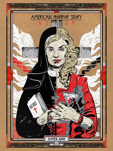Sister Jude by Nick Beery AHS Ausstellung