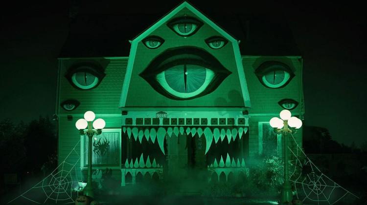 Spuk-Halloween-Haus