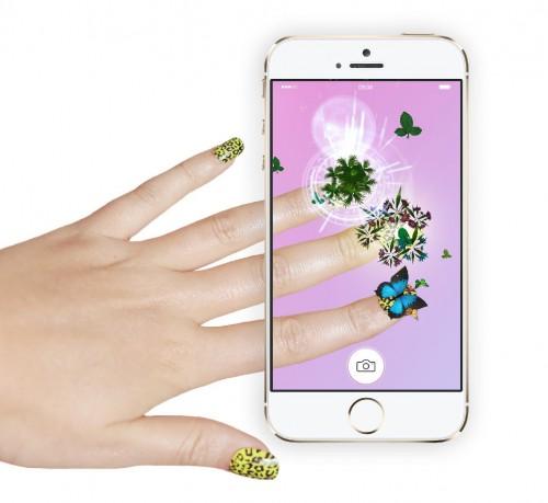 3d-hologramm app für nägel mm nails