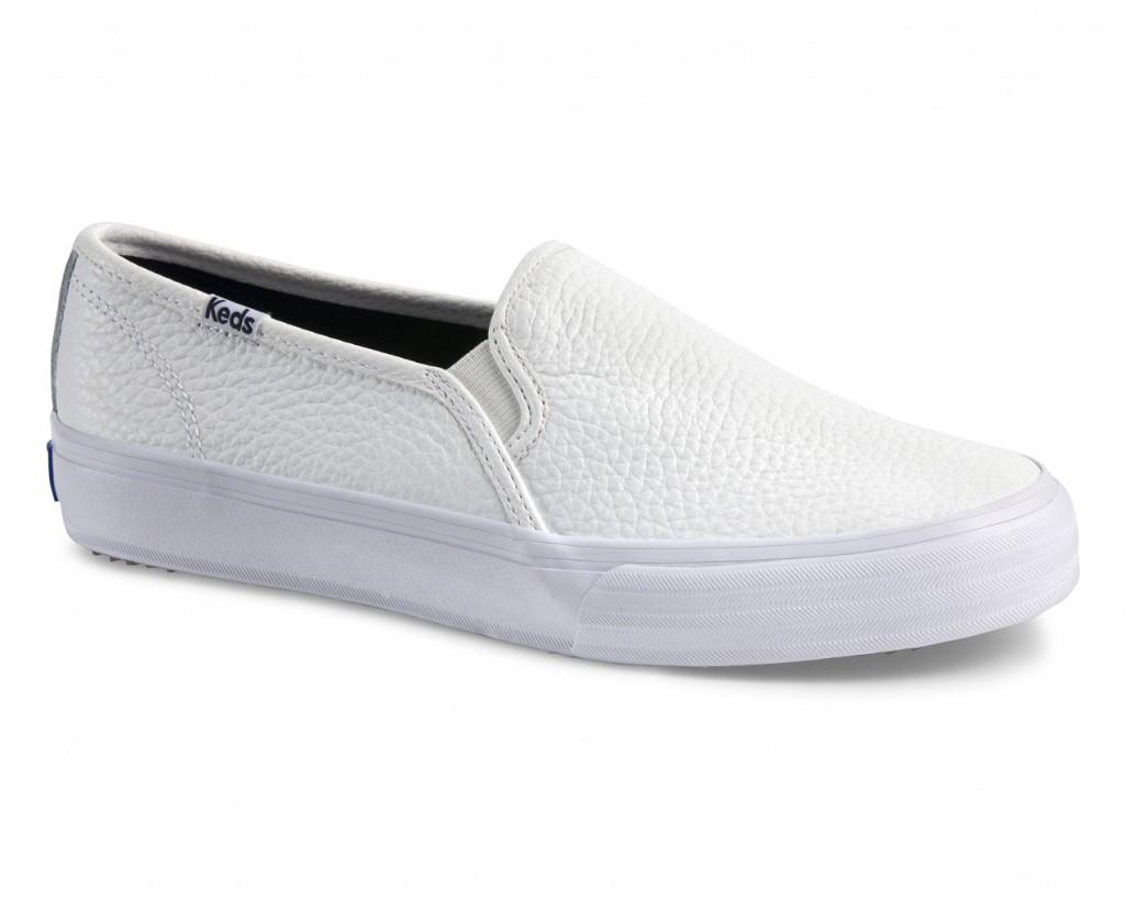 Keds Schuhe Verlosung White Monochrome Double Decker (Slip Ons)