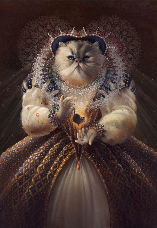 Dinge mit Katzen