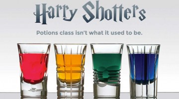 Harry Potter Shots Graphic Nerdity