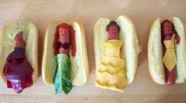 Hotdog Prinzessinnen Disney