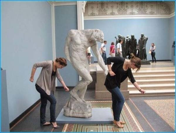 statuen belästigen beyoncé all the single ladies