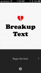 """BreakUp Text: """"Du stinkst"""" in Schönschrift"""