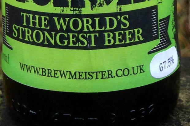 stärkste Bier der Welt
