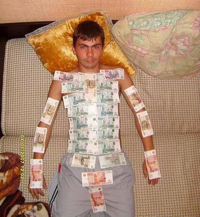 Profilbild mit Geld