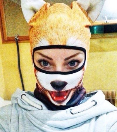 Grumpy Cat Balaclava Fuchs