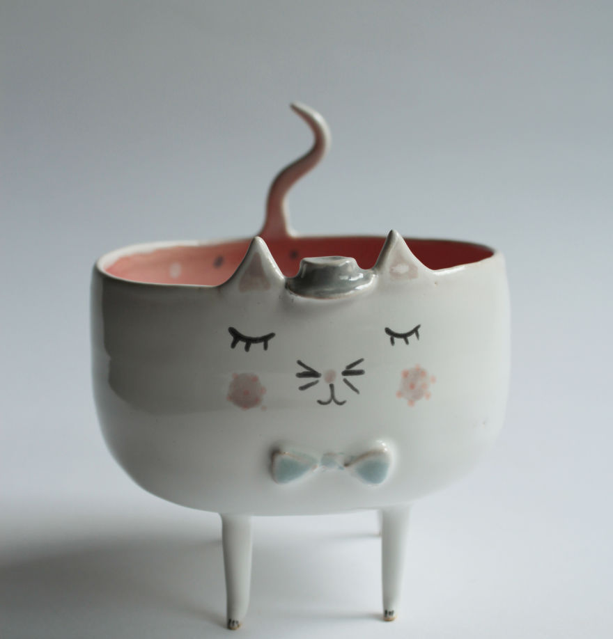 Marta Turowska Clay Opera Tiergeschirr aus Keramik