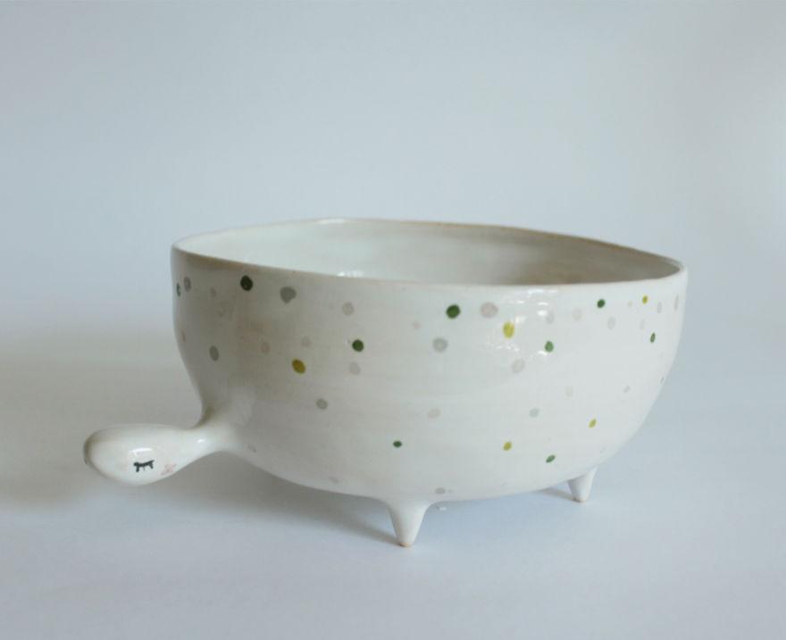 Marta Turowska Clay Opera Schildkrötenschüssel Keramik