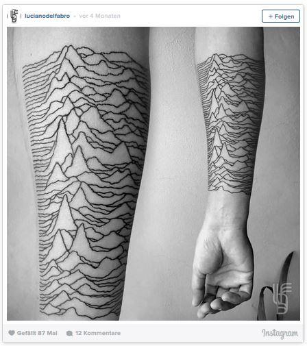 Tattoos vereinen Kunst und Wissenschaft