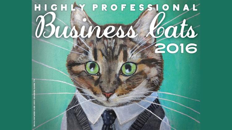 Business Cats Kalender