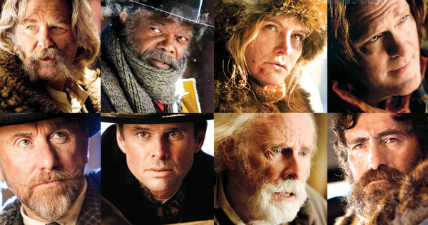 The Hateful Eight Trailer besetzung