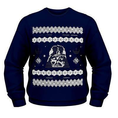 BAY 57 Star Wars Weihnachtspullover Darth Vader Pulli