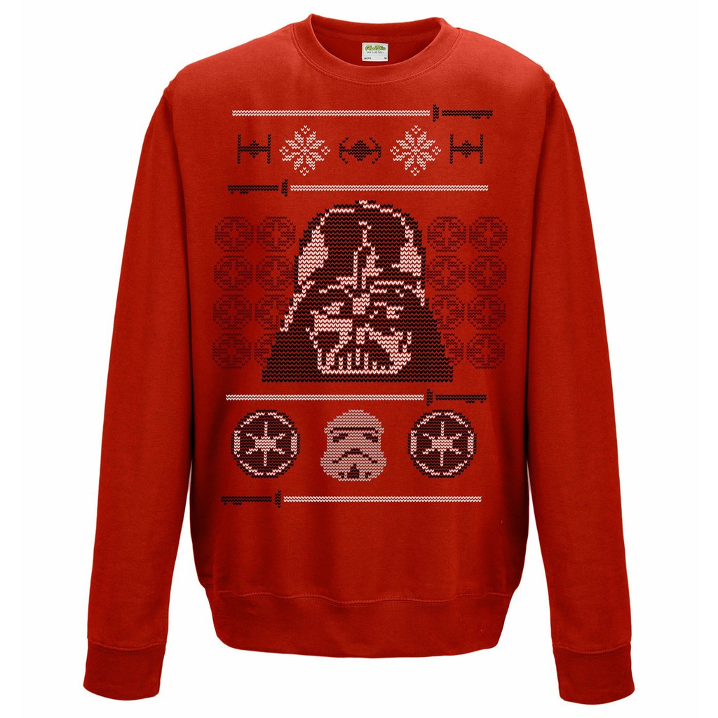 BAY 57 Star Wars Weihnachtssweatshirt Darth Vader Pulli