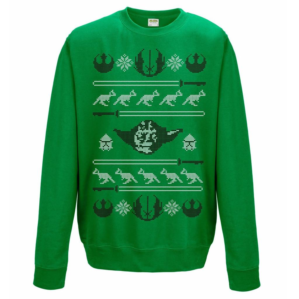 BAY 57 Star Wars Weihnachtspullover yoda pulli gechenkidee