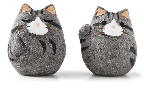 glückskekse mit katzenfiguren