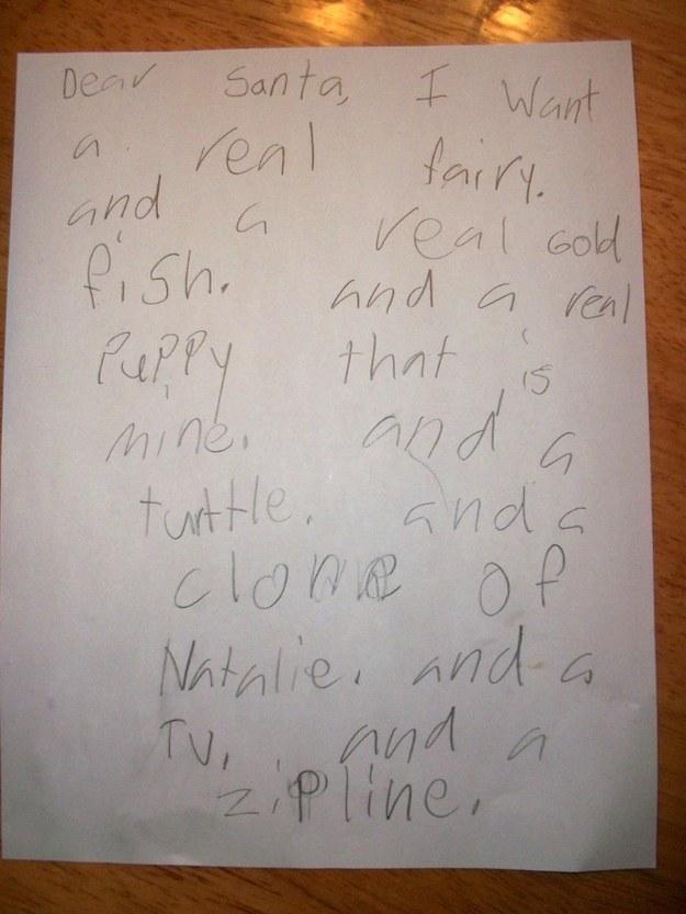 lustigste briefe an den weihnachtsmann