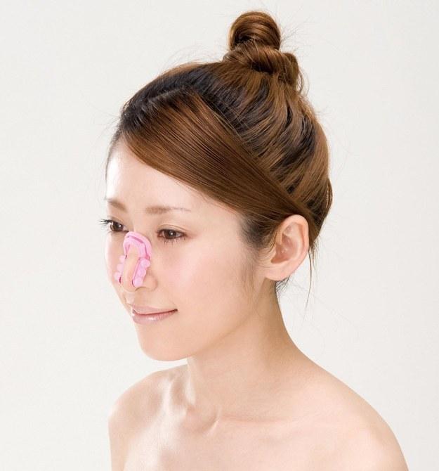 Kuriose Kosmetikprodukte Nase verschmälern China