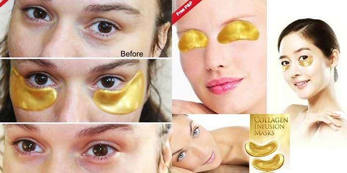 kosmetikprodukte goldmaske