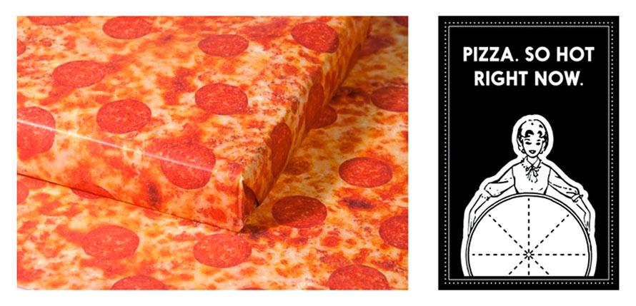 pizza-geschenkpapier kickstarter