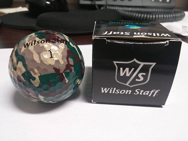 Camouflage Golfball Design Fail