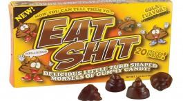 seltsame süßigkeiten eat shit